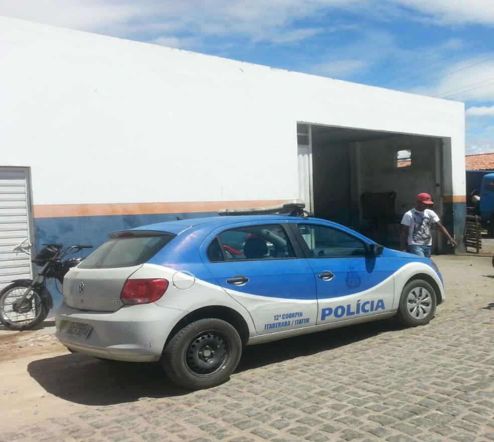 Idoso foi preso na cidade de Itatim, a cerca de 220 km de Salvador (Foto: Divulgação/ Polícia Civil)