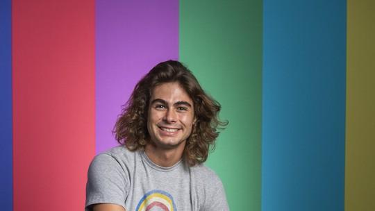 Rafael Vitti diz que se inspira em Jesuíta Barbosa e faz elogio: 'É um artista que admiro demais'