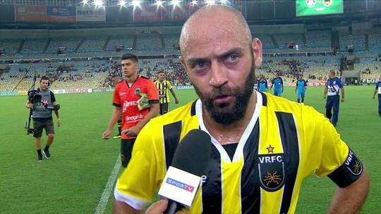 """Marcelo explica mudança de cobrador de pênalti durante o jogo: """"Infelizmente perdi"""""""