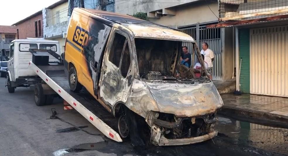Ataques em Fortaleza — Foto: SVM