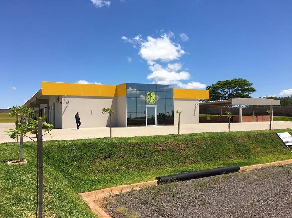 Centro de Treinamento do Mirassol conta com uma sede — Foto: Rodrigo Corsi / FPF
