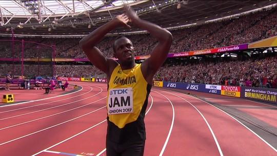 Usain Bolt corre eliminatória pela 1ª vez e garante despedida na final do 4x100m
