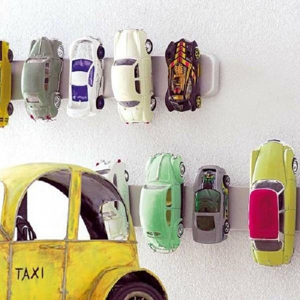 Organizadores carrinho com imã (Foto: Pinterest)
