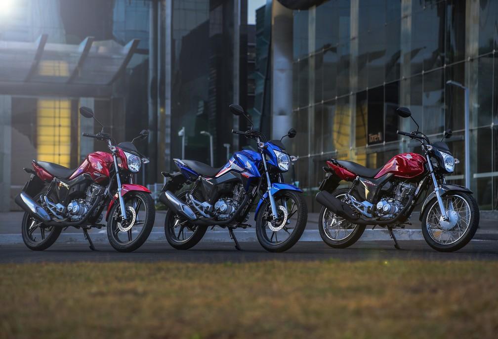 Honda CG 160 2018 (Foto: Divulgação)