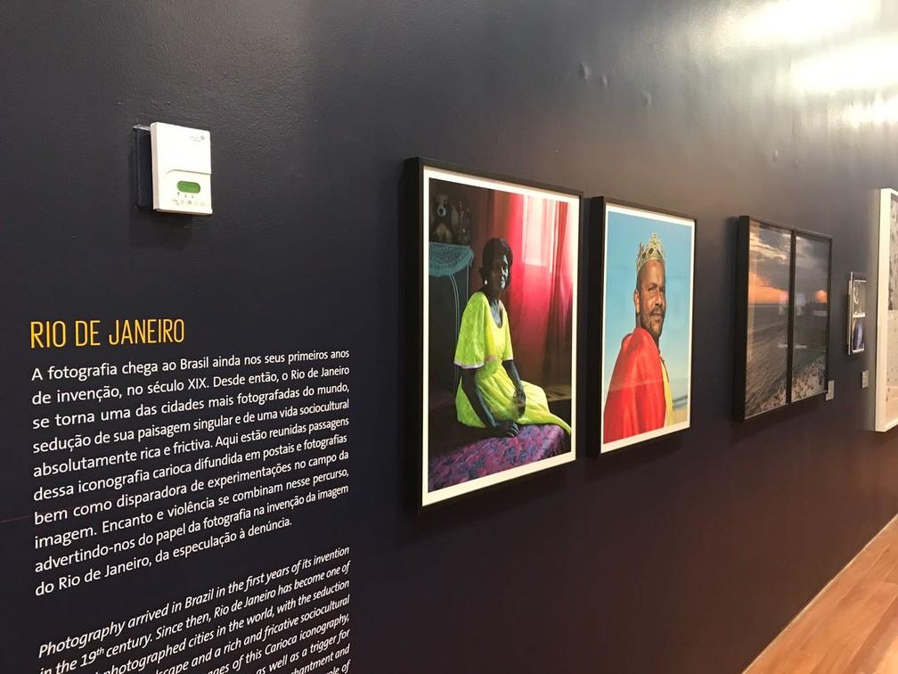 Rio de Janeiro será retratado em parte da exposição (Foto: Matheus Rodrigues/ G1)