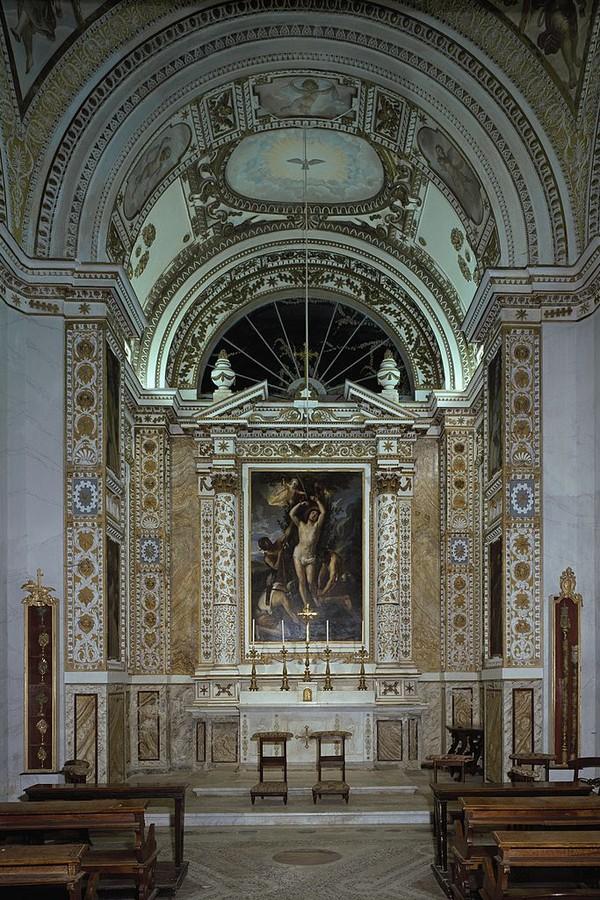 ITALY - CIRCA 2002: Interior of the Chapel of Villa Aldobrandini, Frascati. Italy, 16th-17th century. (Photo by DeAgostini/Getty Images) (Foto: De Agostini via Getty Images)