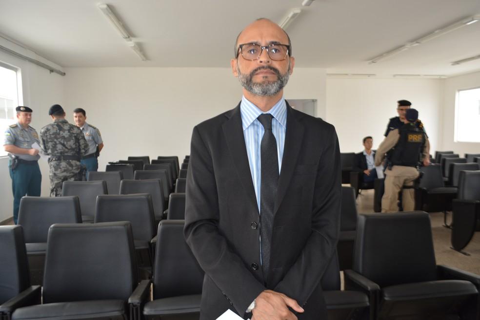 Secretário adjunto de segurança, Luiz Roberto (Foto: Sara Cicera G1/RO)