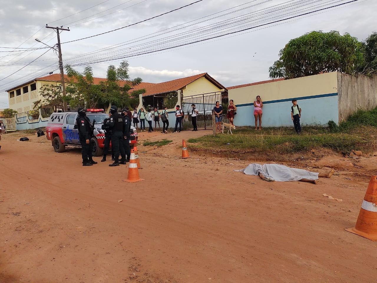 Vendedor de frutas é morto com tiro ao sair de casa para trabalhar em Santarém
