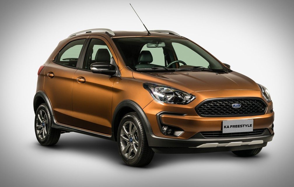 Ford Ka Freestyle (Foto: Ford/Divulgação)