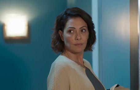 Na terça-feira, (6), Nana (Fabiula Nascimento) encontrará Paloma na sua casa e a expulsará, deixando Alberto furioso TV Globo