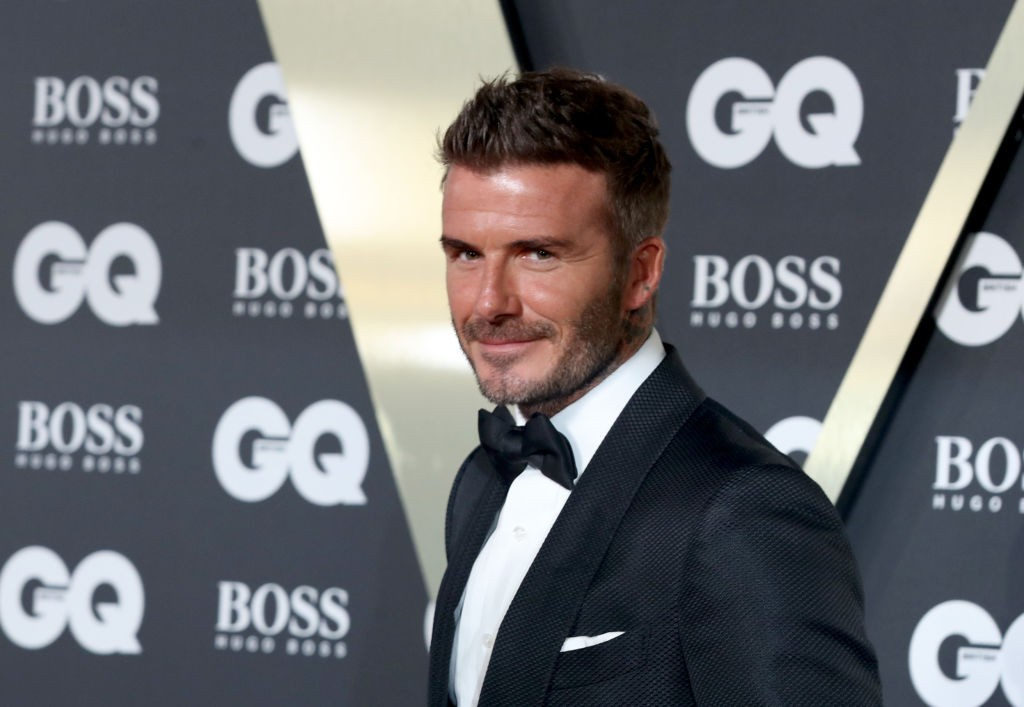 LONDON, ENGLAND - SEPTEMBER 03:  David Beckham attends the GQ Men Of The Year Awards 2019 at Tate Modern on September 03, 2019 in London, England. (Photo by Mike Marsland/WireImage) (Foto: Mike Marsland/WireImage)