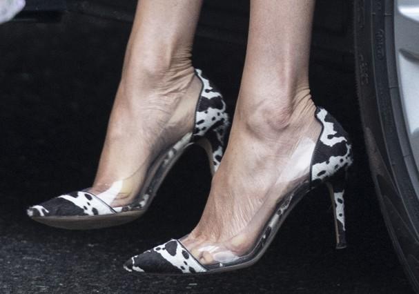 Sapatos de Meghan Markle (Foto: Getty Images)