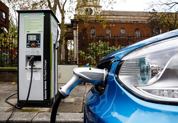 carros elétricos  (Foto: GettyImages)