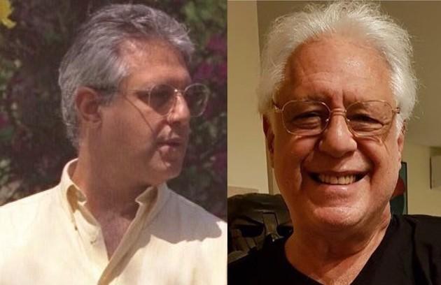 'A viagem' volta ao ar no Viva em dezembro. Antonio Fagundes foi Otávio, advogado com doença terminal (Foto: Globo e Reprodução)