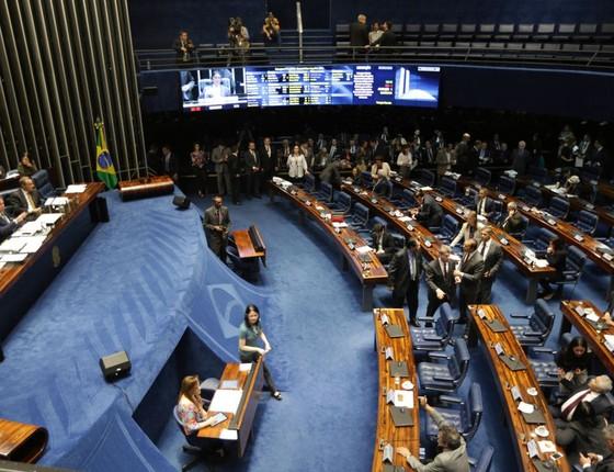 O Plenário do Senado Federal (Foto: Fabio Rodrigues Pozzebom/Agência Brasil )