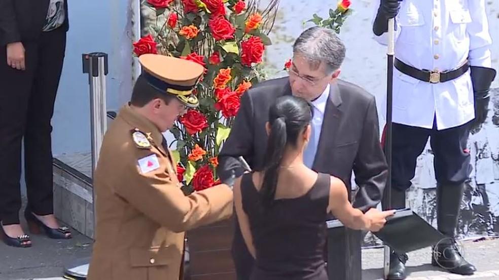 Coronel reformado foi comandante-geral da PM no governo de Fernando Pimentel — Foto: Reprodução / TV Globo
