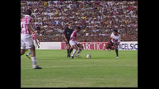 Você lembra? Em 1999, Clássico das Emoções valeu vaga na Copa do Brasil; veja vídeo