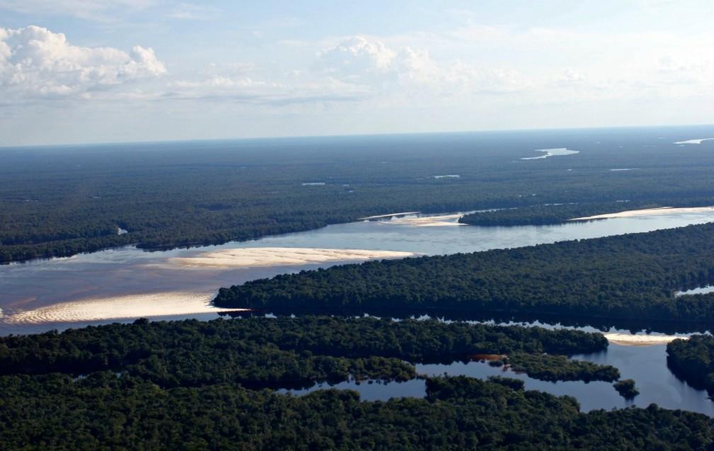 Cravado no meio da Floresta Amazônica, São Gabriel da Cachoeira é um dos município de maior extensão territorial no Brasil — Foto: Adneison Severiano / G1