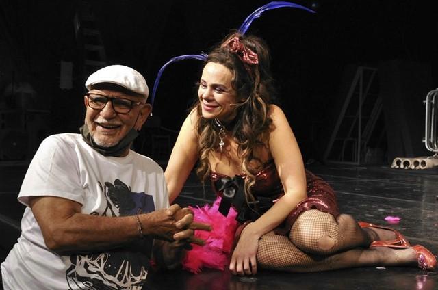 Amir Haddad e Vanessa Gerbelli (Foto: Cristina Granato)