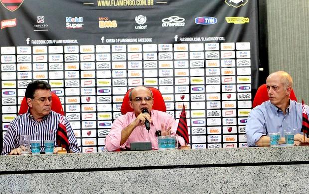 Novos comandantes do futebol do Fla não garantem Zinho e Dorival