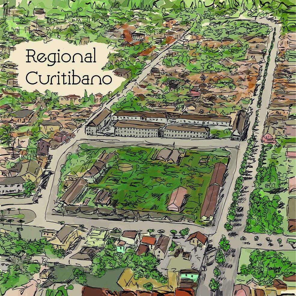 Capa do álbum 'Regional Curitibano' (Foto: Divulgação)