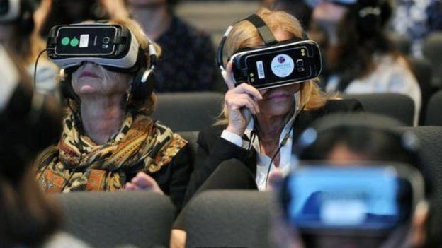 Os especialistas dizem que no futuro os espectadores poderão assistir ao que está sendo contado e depois poder vivenciar aquilo (Foto: GETTY IMAGES)