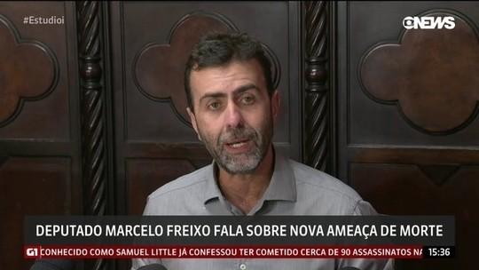 Deputado Marcelo Freixo fala sobre nova ameaça de morte