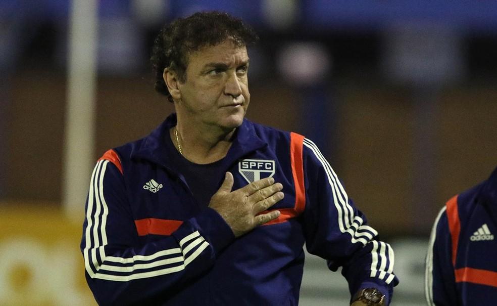 Cuca dirigiu o São Paulo em 2004 e retornou ao clube em 2019 — Foto: Rubens Chiri / saopaulofc.net