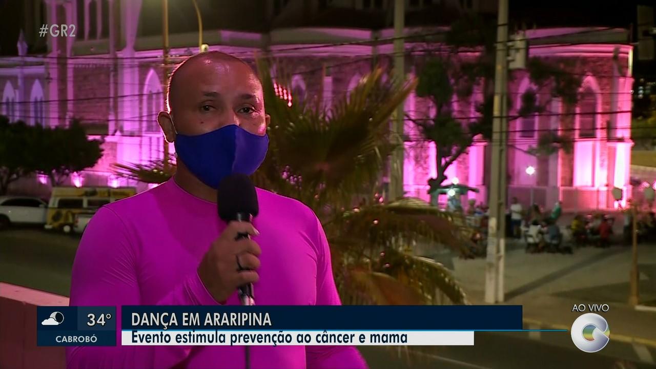 No Outubro Rosa, evento mobiliza mulheres em Araripina