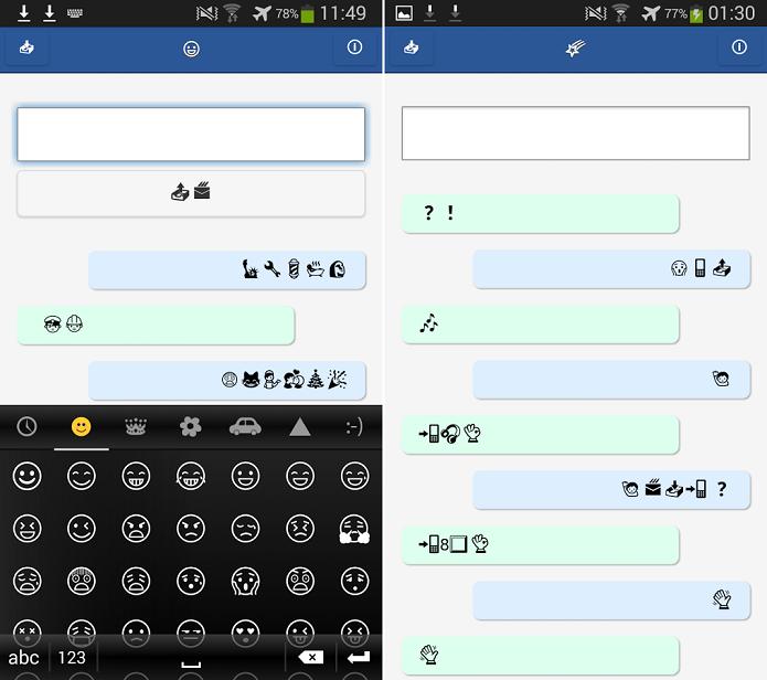 Emojili ganhou uma versão para Android (Foto: Divulgação)