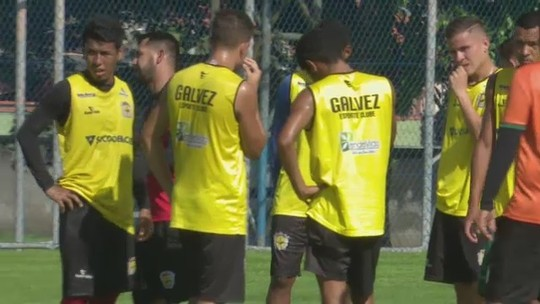 Galvez está definido para encarar Palmeiras na 1ª fase da Copa do Brasil Sub-20