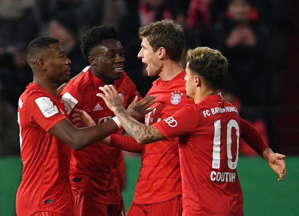 Thomas Müller, Bayern de Munique, Hoffenheim, Copa da Alemanha — Foto: REUTERS/Andreas Gebert