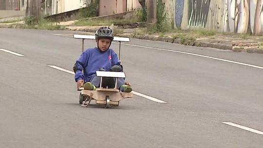 'Meu Paraná' voltou à infância e falou sobre carrinho de rolimã