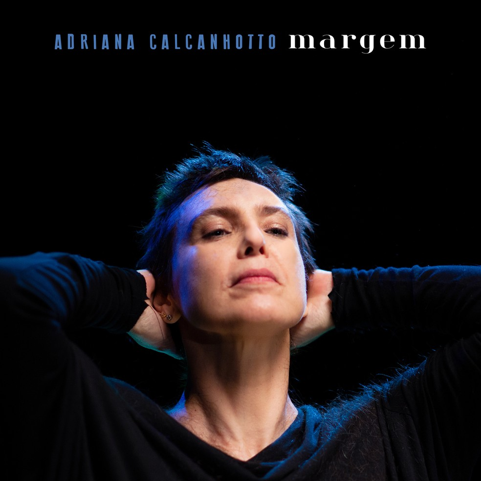 Capa do single 'Margem', de Adriana Calcanhotto — Foto: Murilo Alvesso