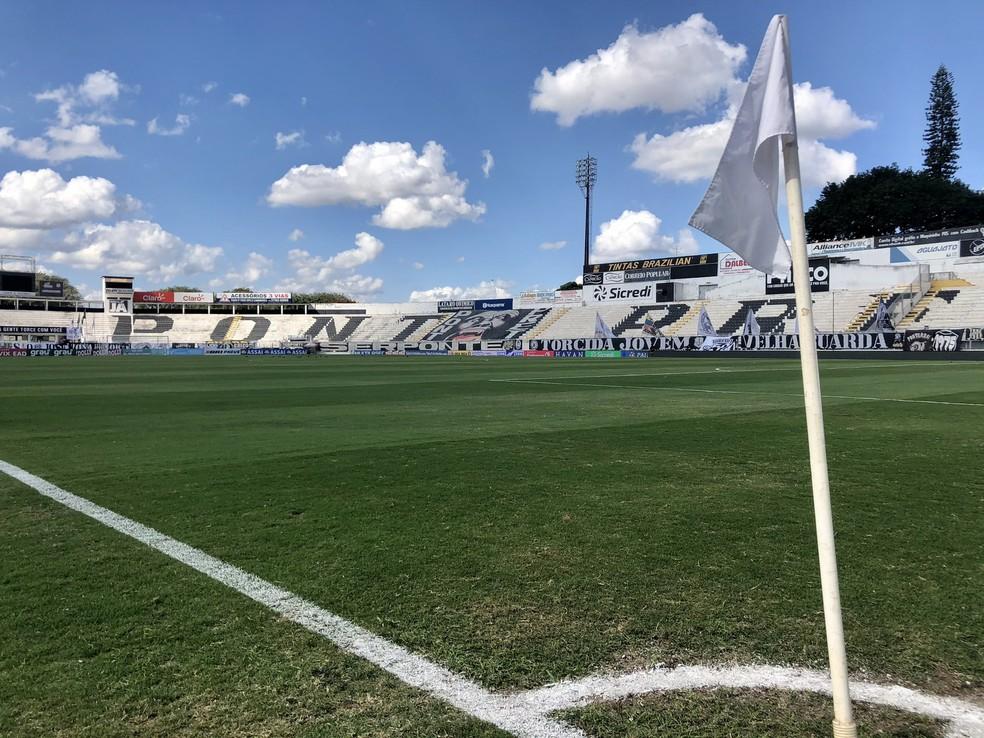 Estádio Moisés Lucarelli, palco do jogo entre Ponte Preta e Vasco — Foto: Ponte Preta