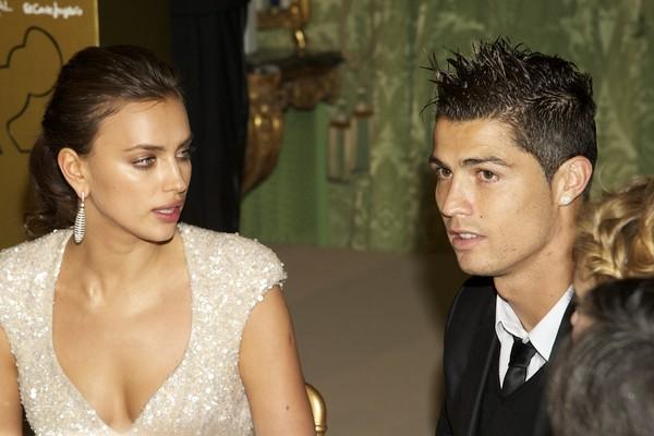 A modelo Irina Shayk com o jogador de futebol Cristiano Ronaldo (Foto: Getty Images)