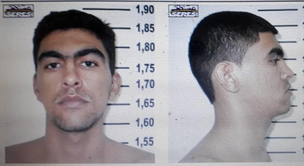 Detento foi resgatado no Grande Recife enquanto voltava de audiência (Foto: Sindasp/Divulgação)