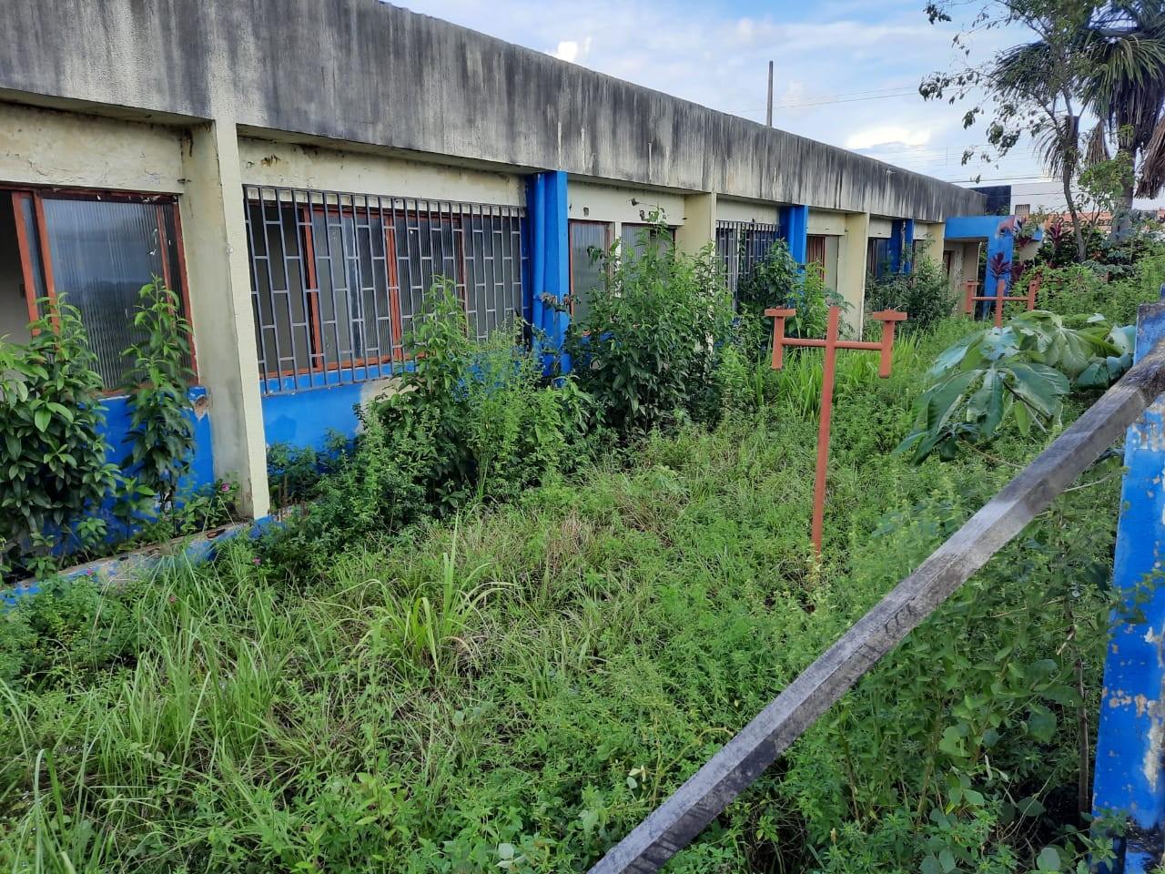 Com ordem de serviço de reforma assinada há 10 meses, obras na Escola de Música Jorge Andrade não avançaram em Porto Velho