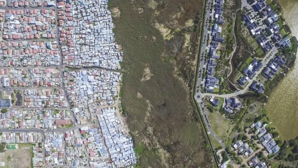 Cidade do Cabo — Foto: JOHNNY MILLER / UNEQUAL SCENES