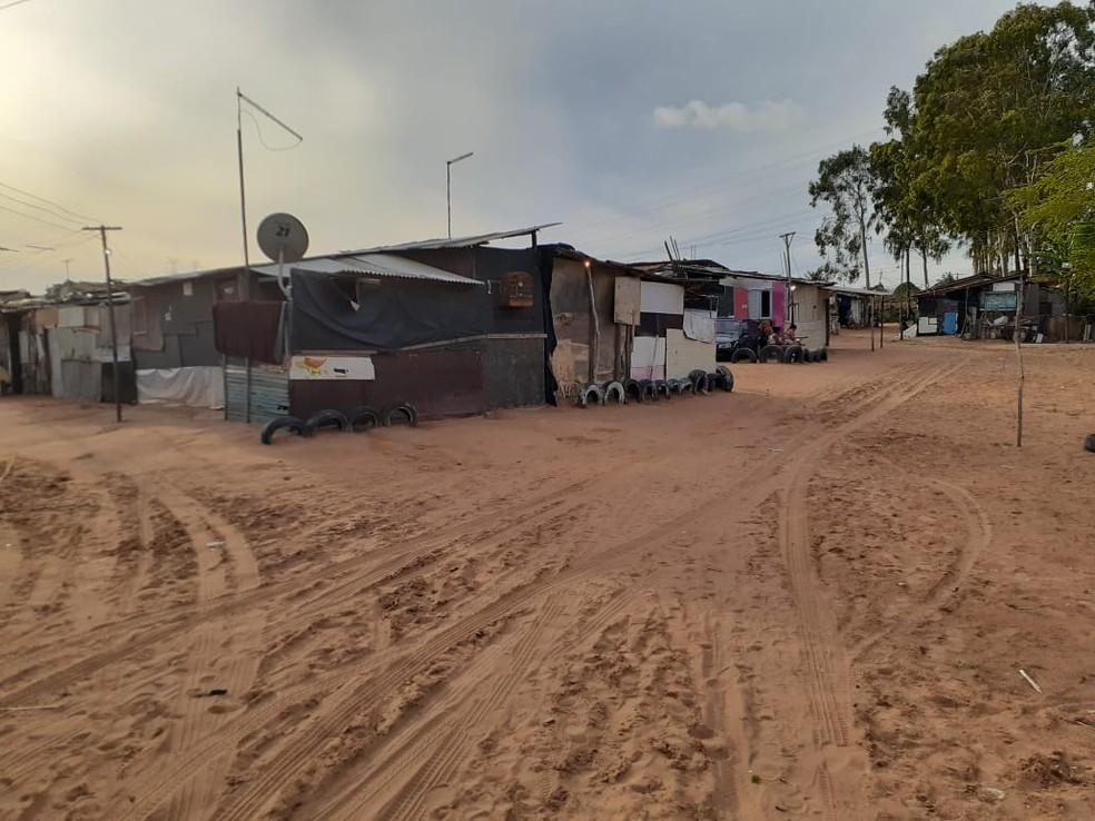 Ocupação Olga Benário, em Natal — Foto: Julianne Barreto/Inter TV Cabugi