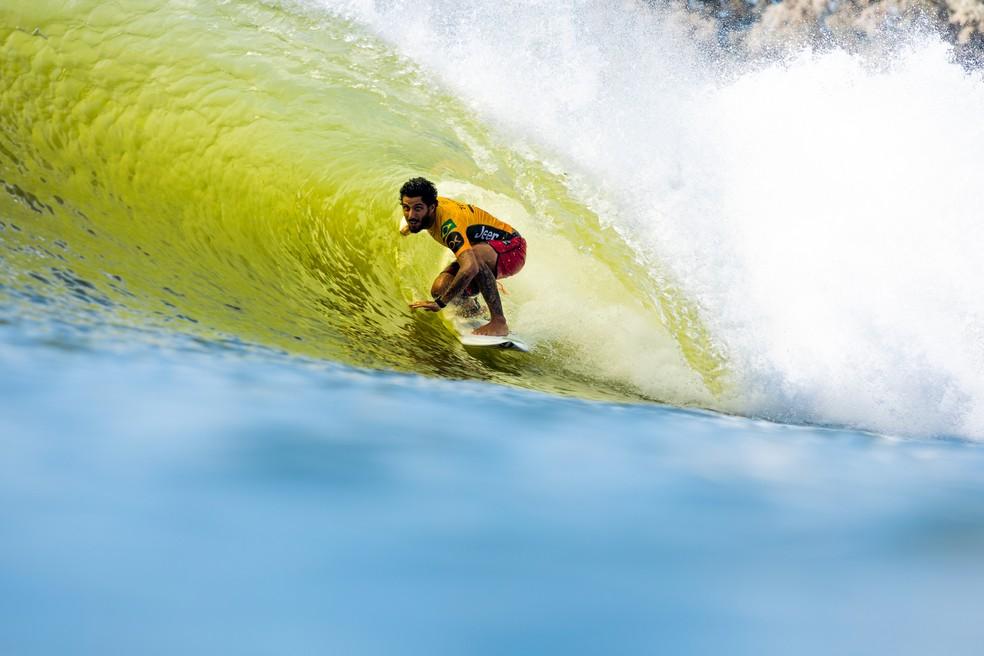 Filipe Toledo faz a maior nota no Surf Ranch: 9,27 — Foto: WSL / Miers
