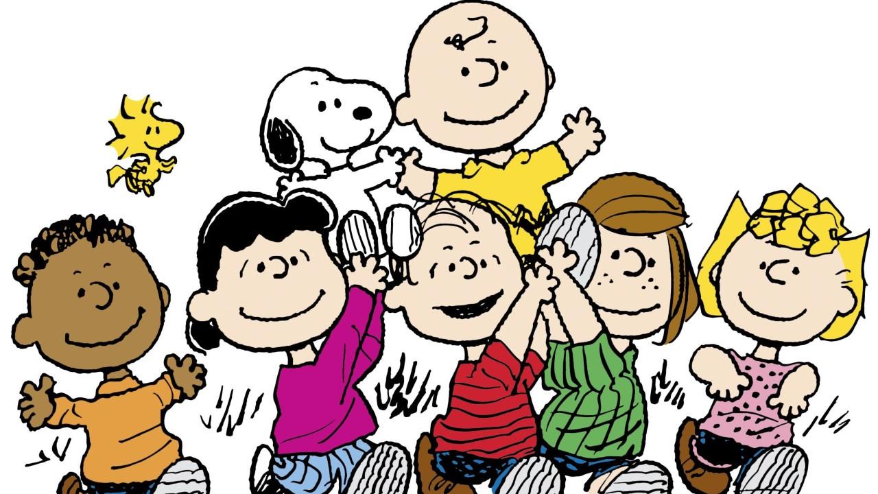 A turma da série 'Peanuts', sucesso criado por Charles Schulz