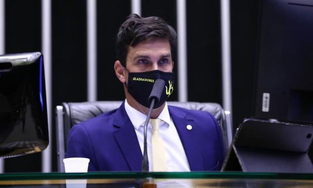 Luiz Lima no plenário da Câmara