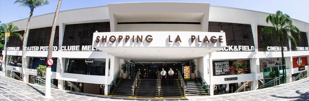 Crime aconteceu dentro do Shopping La Plage, em Guarujá (SP) — Foto: Divulgação