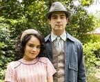 Inês (Carol Macedo) e Carlos (Danilo Mesquita) | Divulgação/TV Globo