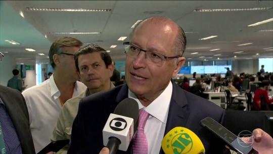 Alckmin critica gestão Temer e diz que PSDB não tem 'nada a ver' com o governo