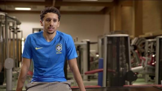Daniel Alves e Marquinhos falam sobre importância de vestir a camisa da Seleção Brasileira