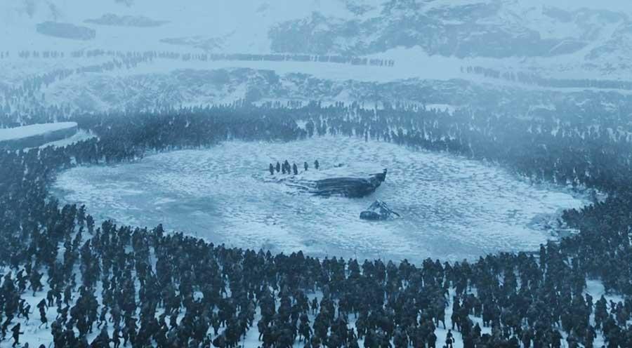 Final de Game of Thrones terá maior batalha já vista na TV