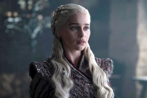 Emilia Clarke como Daenerys Targaryen na série Game of Thrones (Foto: Divulgação)