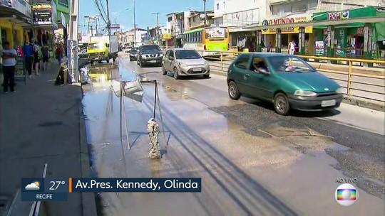 Obras da Avenida Presidente Kennedy, em Olinda, completam 10 anos